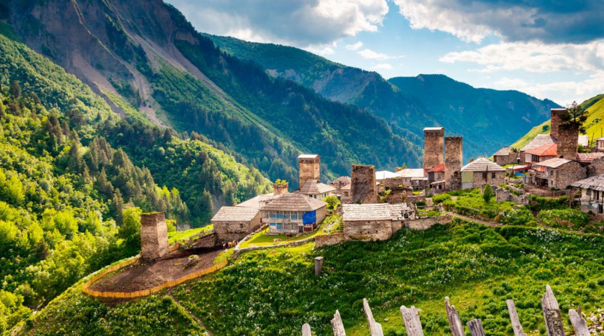 Have a Digital Detox in Mysterious Svaneti